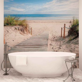 Ταπετσαρία τοιχογραφία Path Beach Sand Nature