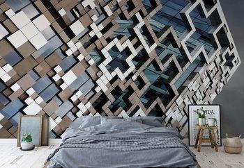 Ταπετσαρία τοιχογραφία Puzzle Facade