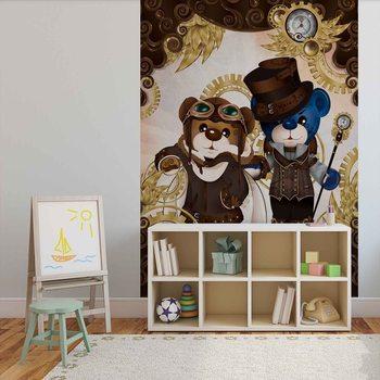 Ταπετσαρία τοιχογραφία Rainbow Bears Care Bears