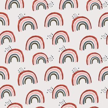 Ταπετσαρία τοιχογραφία Rainbows repeat
