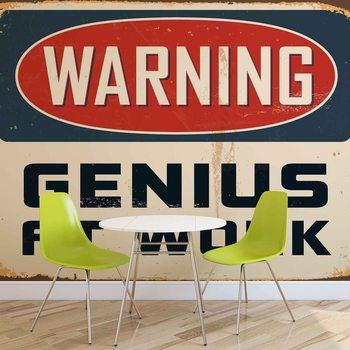 Ταπετσαρία τοιχογραφία Retro Poster Genius