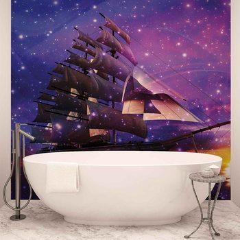 Ταπετσαρία τοιχογραφία Sailing Ship