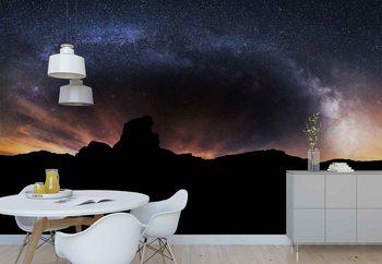 Ταπετσαρία τοιχογραφία Silhouette Sky