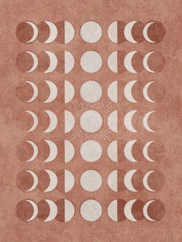 Ταπετσαρία τοιχογραφία Somon Moonphase 02