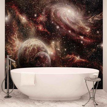 Ταπετσαρία τοιχογραφία Space Planets