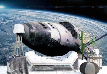 Ταπετσαρία τοιχογραφία Space Shuttle