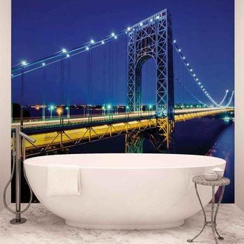 Ταπετσαρία τοιχογραφία Stadt George Washington Bridge