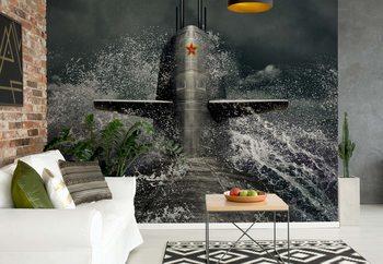 Ταπετσαρία τοιχογραφία Submarine