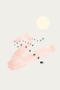 Ταπετσαρία τοιχογραφία Sun and Heaven