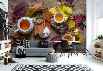 Ταπετσαρία τοιχογραφία Tea Of September