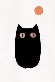 Ταπετσαρία τοιχογραφία The Cat