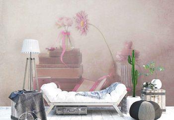 Ταπετσαρία τοιχογραφία Think Pink