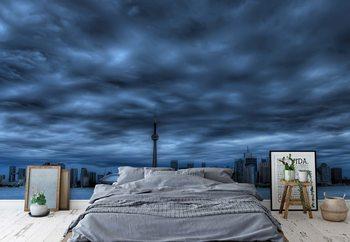Ταπετσαρία τοιχογραφία Toronto Blue