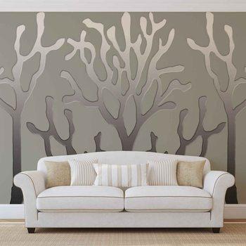 Ταπετσαρία τοιχογραφία Tree Abstract