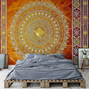 Ταπετσαρία τοιχογραφία Tribal Pattern