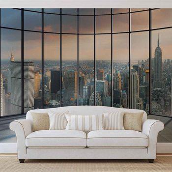 Ταπετσαρία τοιχογραφία View New York City
