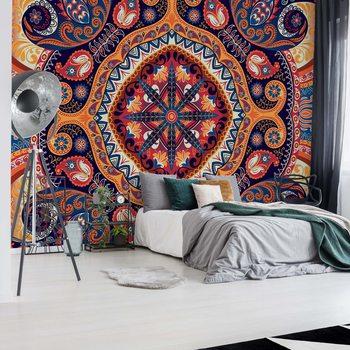 Ταπετσαρία τοιχογραφία Vintage Ethnic Pattern