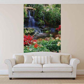 Ταπετσαρία τοιχογραφία Waterfall Forest Nature