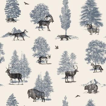 Ταπετσαρία τοιχογραφία Where they Belong - Winter