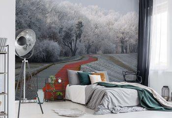 Ταπετσαρία τοιχογραφία Winter Afternoon