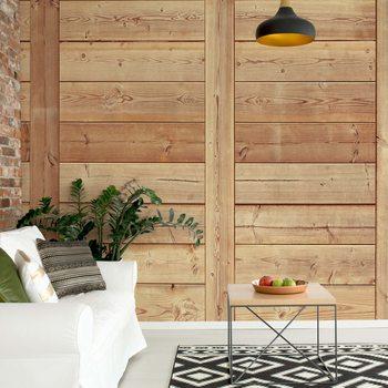 Ταπετσαρία τοιχογραφία Wood Plank Texture
