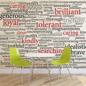 Ταπετσαρία τοιχογραφία Words Motivational