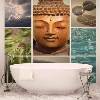 Ταπετσαρία τοιχογραφία Zen Calming Scene