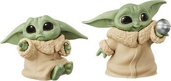 Статуетка Star Wars: The Mandalorian - Baby Yoda Collection 2 pcs (Hold Me & Ball Toy)