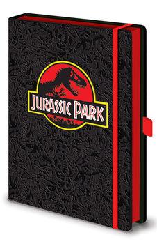 Jurassic Park - Classic Logo Premium Блокноти