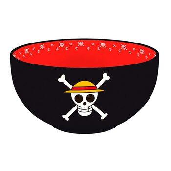 Посуд Блюдо One Piece - Skulls