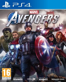 Видеоигра Marvel's Avengers (PS4)