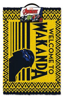 Дверний килимок Black Panther - Welcome to Wakanda