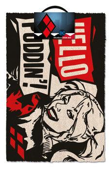Дверний килимок Harley Quinn - Hello Puddin'