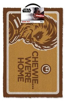 Дверний килимок Star Wars - Chewe We're Home