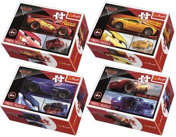 Πъзели Cars 3 4in1