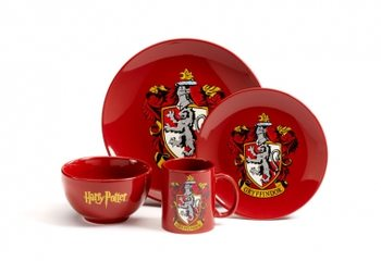 Dinner set Harry Potter - Gryffindor