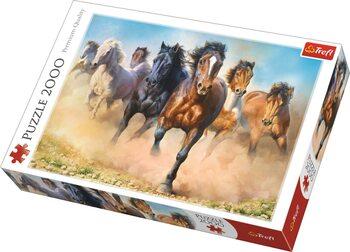 Πъзели Galloping Herd of Horses