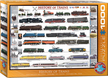 пъзели History of Trains