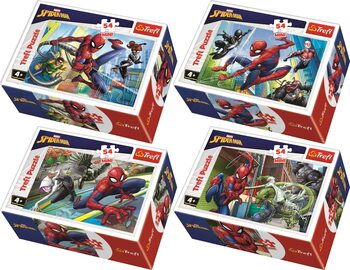 Πъзели Marvel - Spiderman 4in1