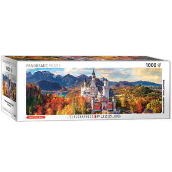 пъзели Neuschwanstein in Fall - Pano