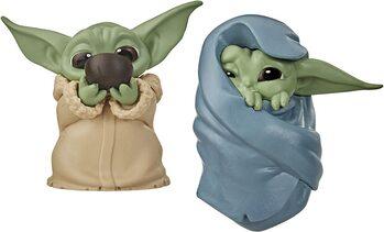 Фигурка Star Wars: The Mandalorian - Baby Yoda Collection 2 pcs (Soup & Blanket)