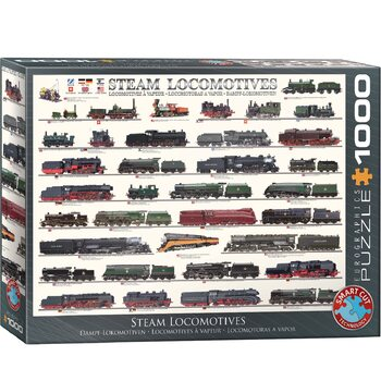 пъзели Steam Locomotives