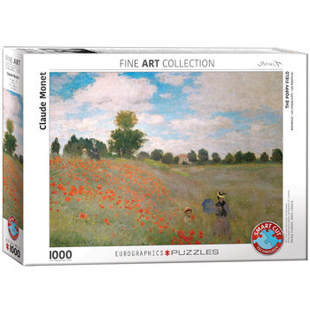 Πъзели The Poppy Field by Monet