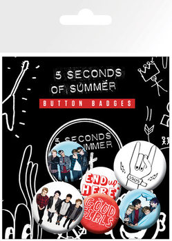 Значка комплект 4 броя 5 Seconds of Summer - Good Girls