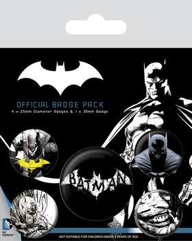 Значка комплект 4 броя Batman - Dark
