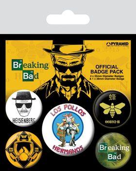 Значка комплект 4 броя Breaking Bad - Los Pollos Hermanos