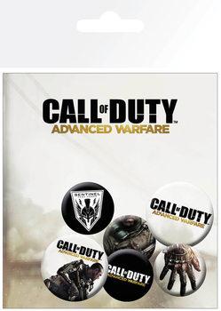 Значка комплект 4 броя Call of Duty Advanced Warfare - Mix