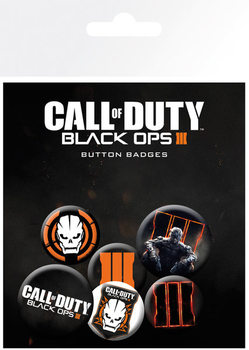 Значка комплект 4 броя Call Of Duty: Black Ops 3 - mix