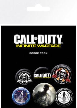 Значка комплект 4 броя  Call Of Duty: Infinite Warfare - Mix