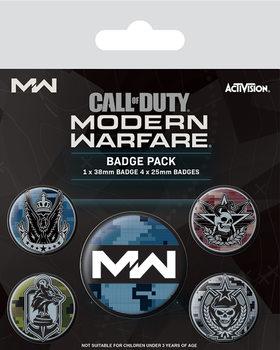 Значка комплект 4 броя Call Of Duty: Modern Warfare - Fractions